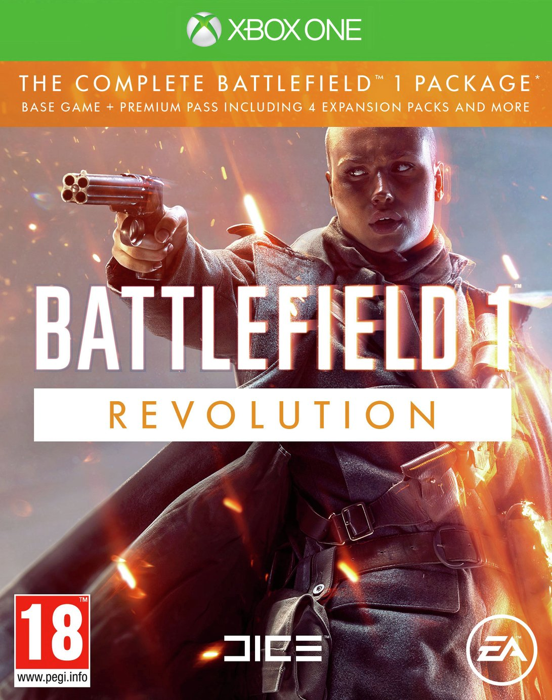 Image of Battlefield 1 Revolution Xbox One Game