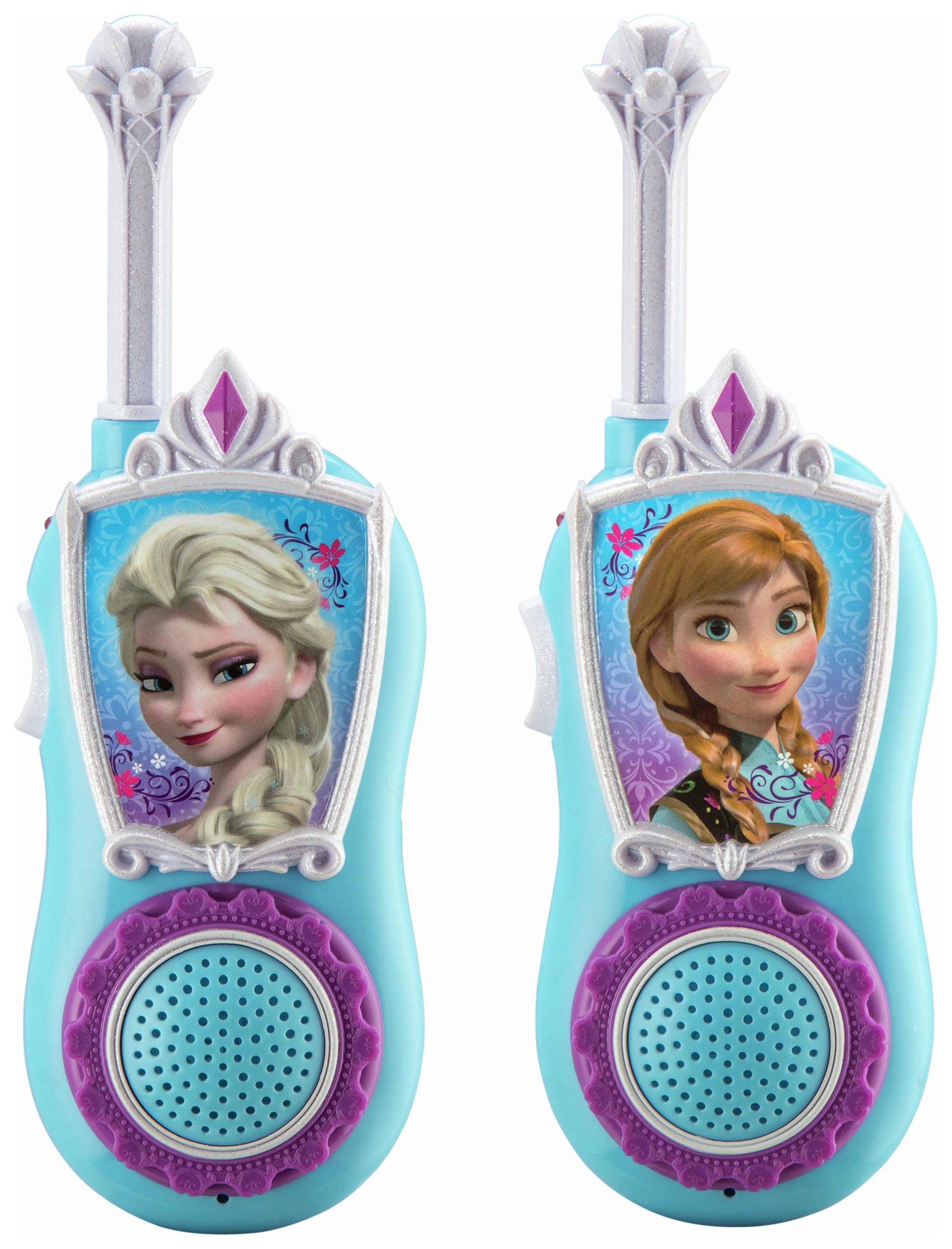 Disney Frozen 450m Long Range Walkie Talkies. review
