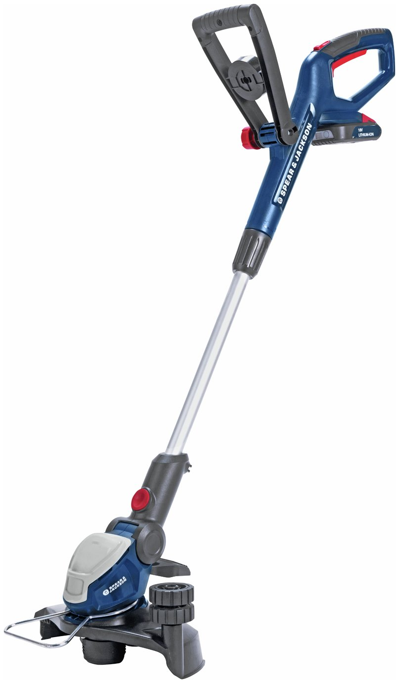 Spear & Jackson S1825CT 25cm Cordless Grass Trimmer review