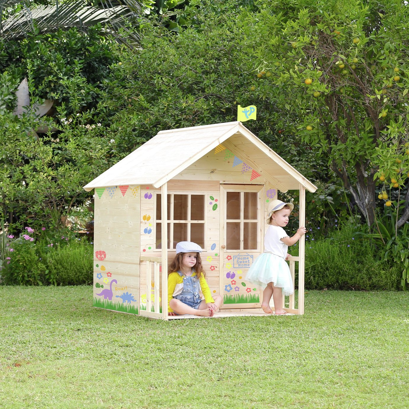 TP Wooden Meadow Cottage Playhouse