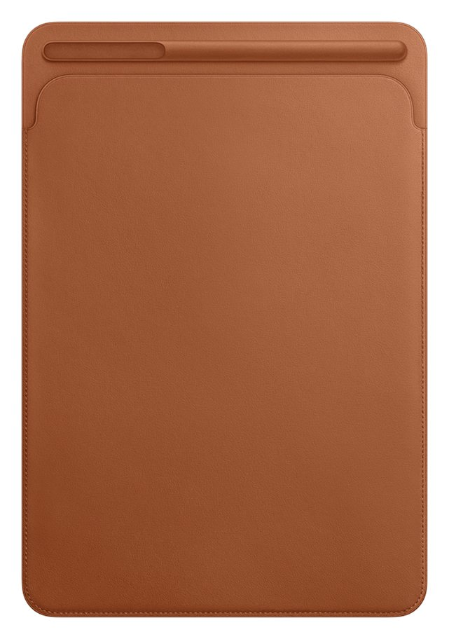 Image of Apple 10.5 Inch iPad Pro Leather Sleeve - Brown