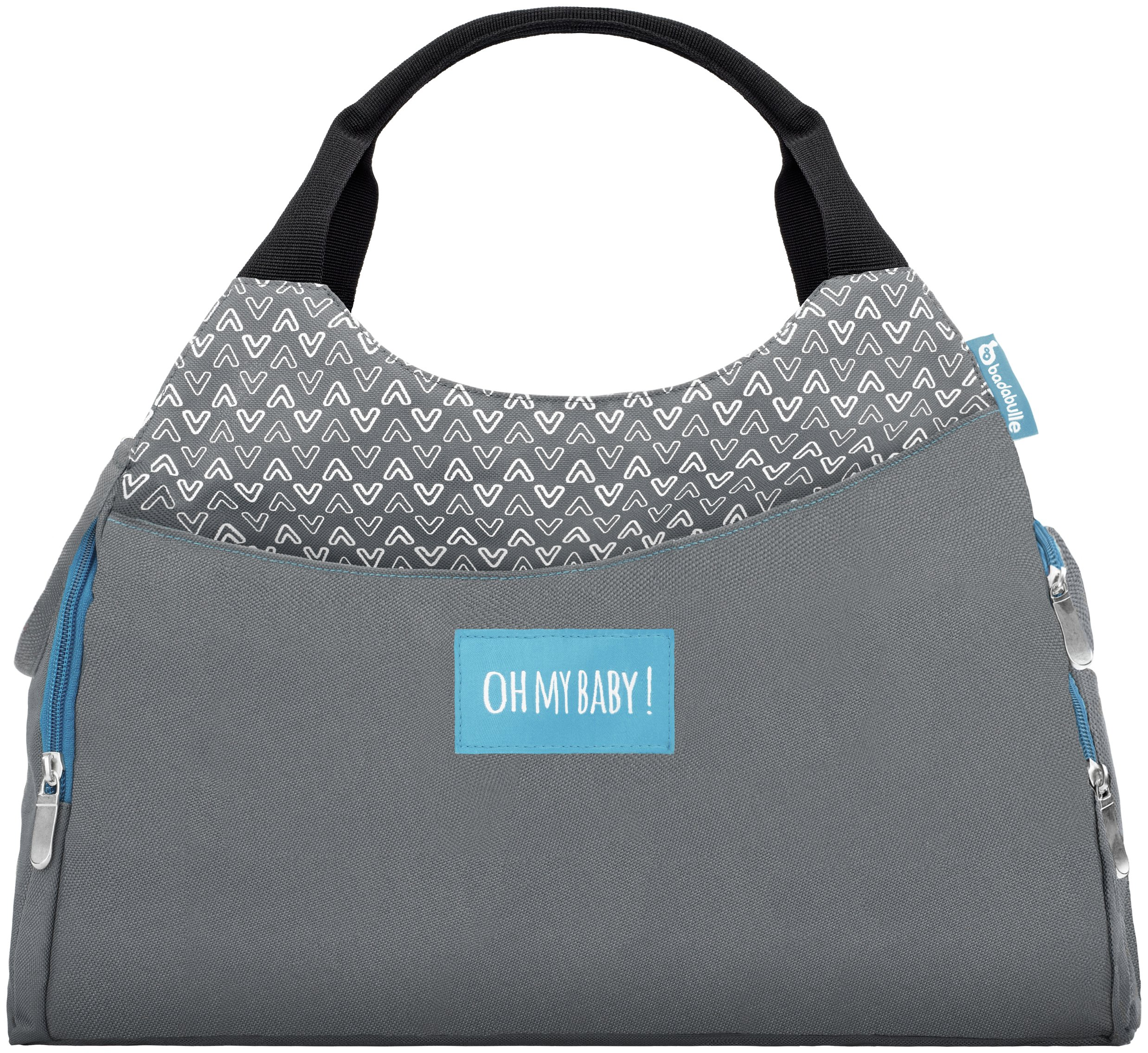 Badabulle Multipocket Changing Bag - Grey