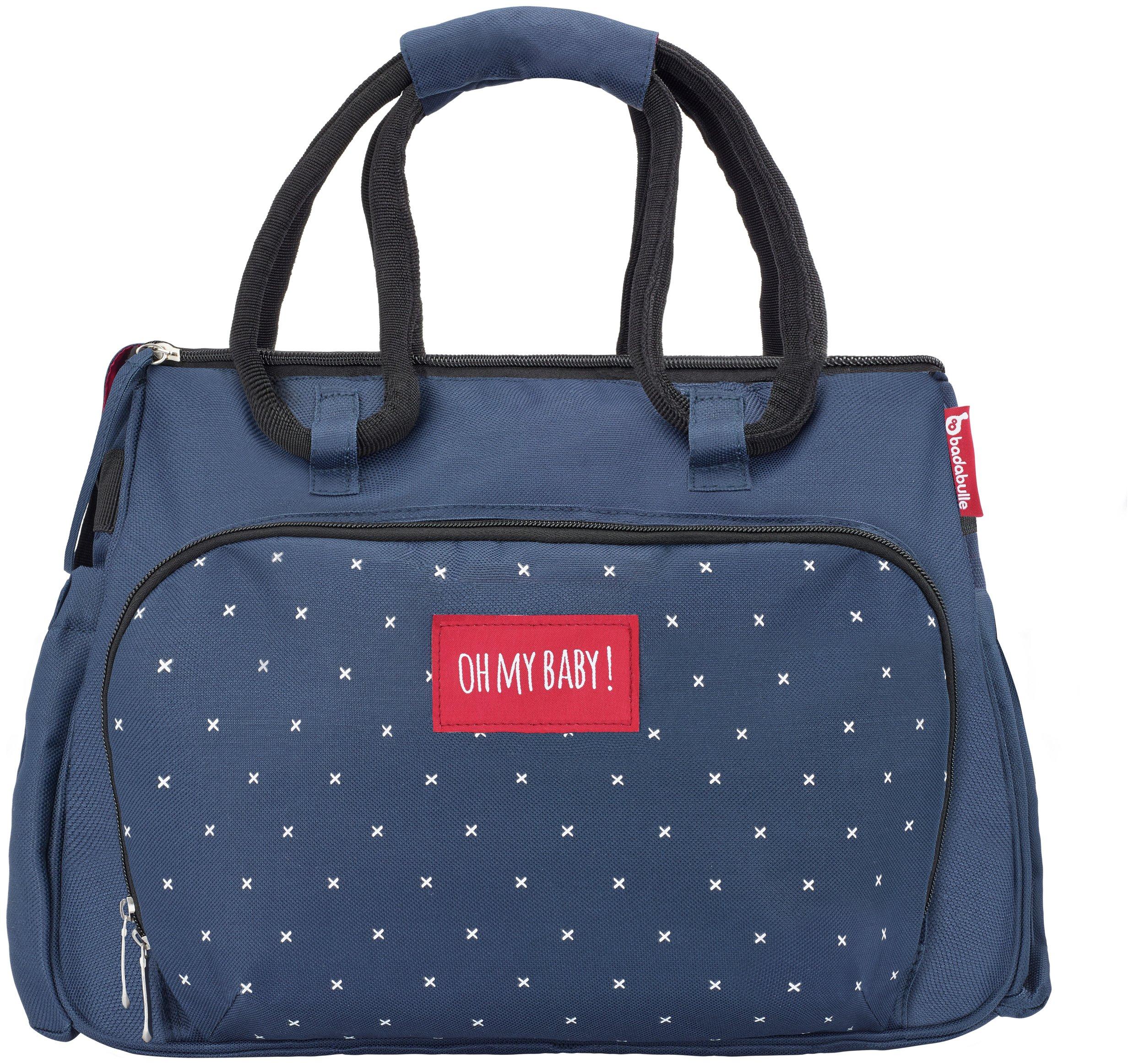 Badabulle Boho Changing Bag - Dark Blue