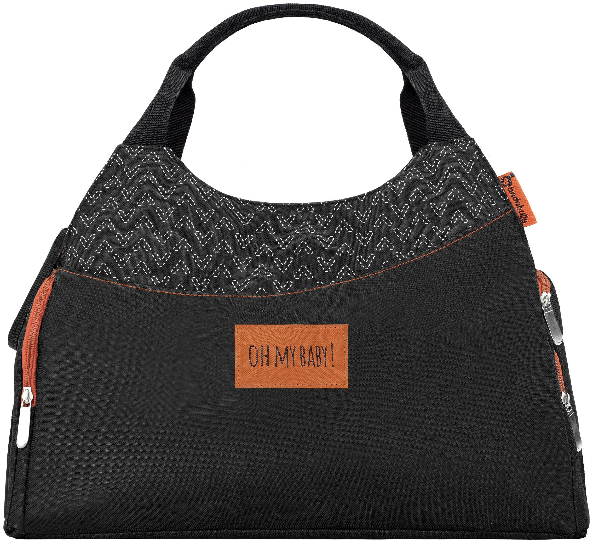 Badabulle Multipocket Changing Bag - Black