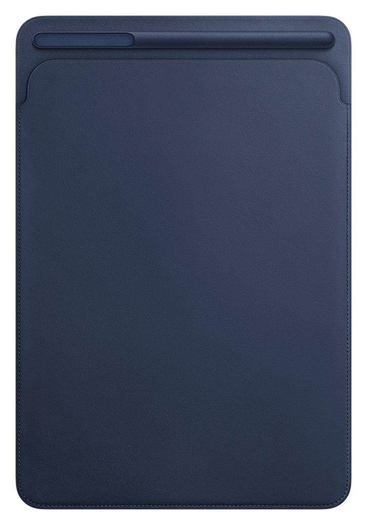 Image of Apple 10.5 Inch iPad Pro Leather Sleeve - Midnight Blue