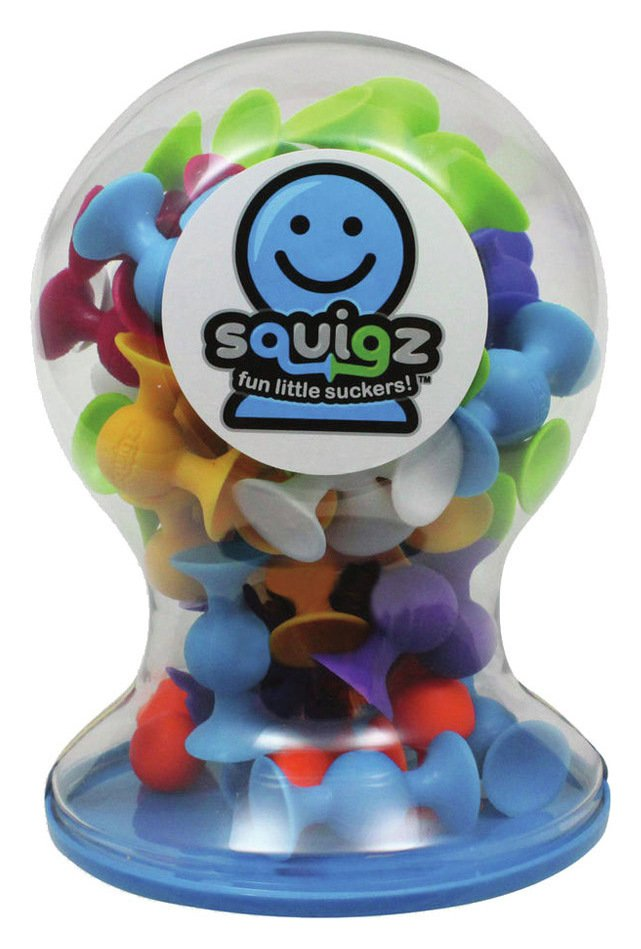 Image of Fat Brain Toys Squigz Deluxe.