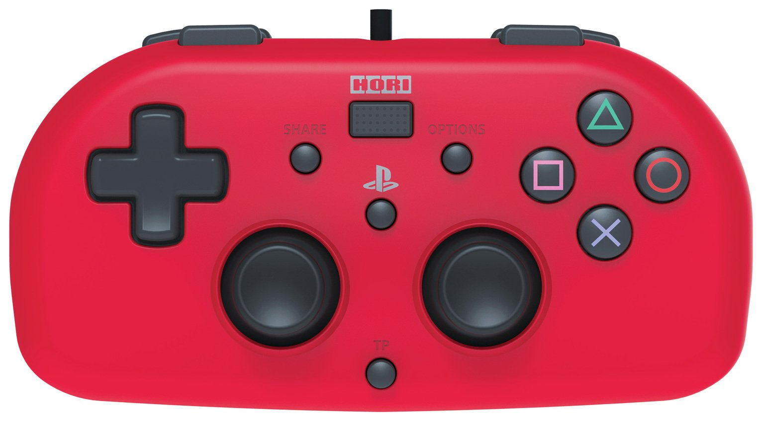 Image of Hori Wired Mini Gamepad PS4 Controller ??? Red