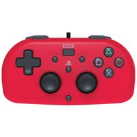 Hori Wired Mini Gamepad PS4 Controller – Red