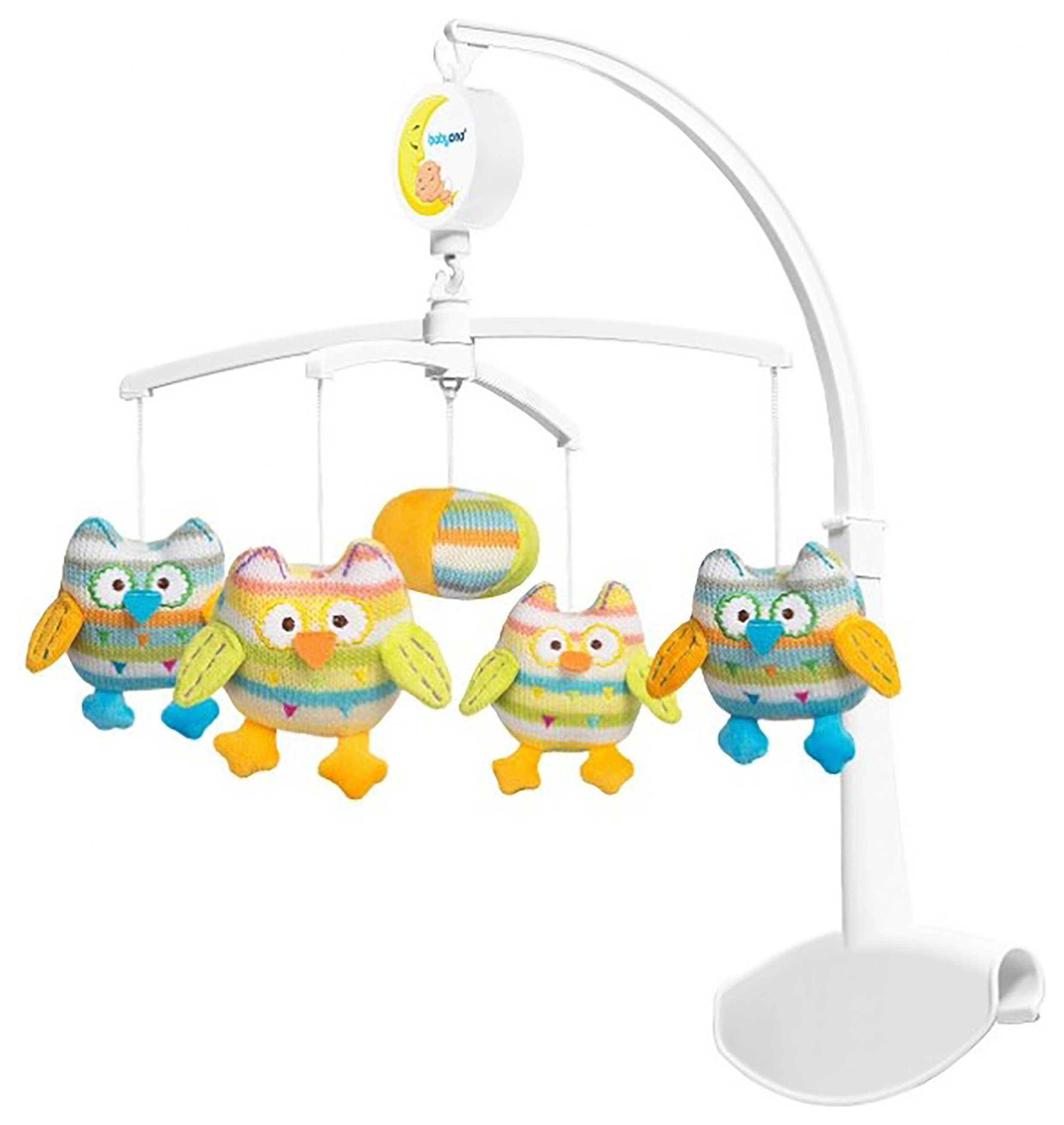 Image of Baby Ono Musical Cot Mobile - Owls