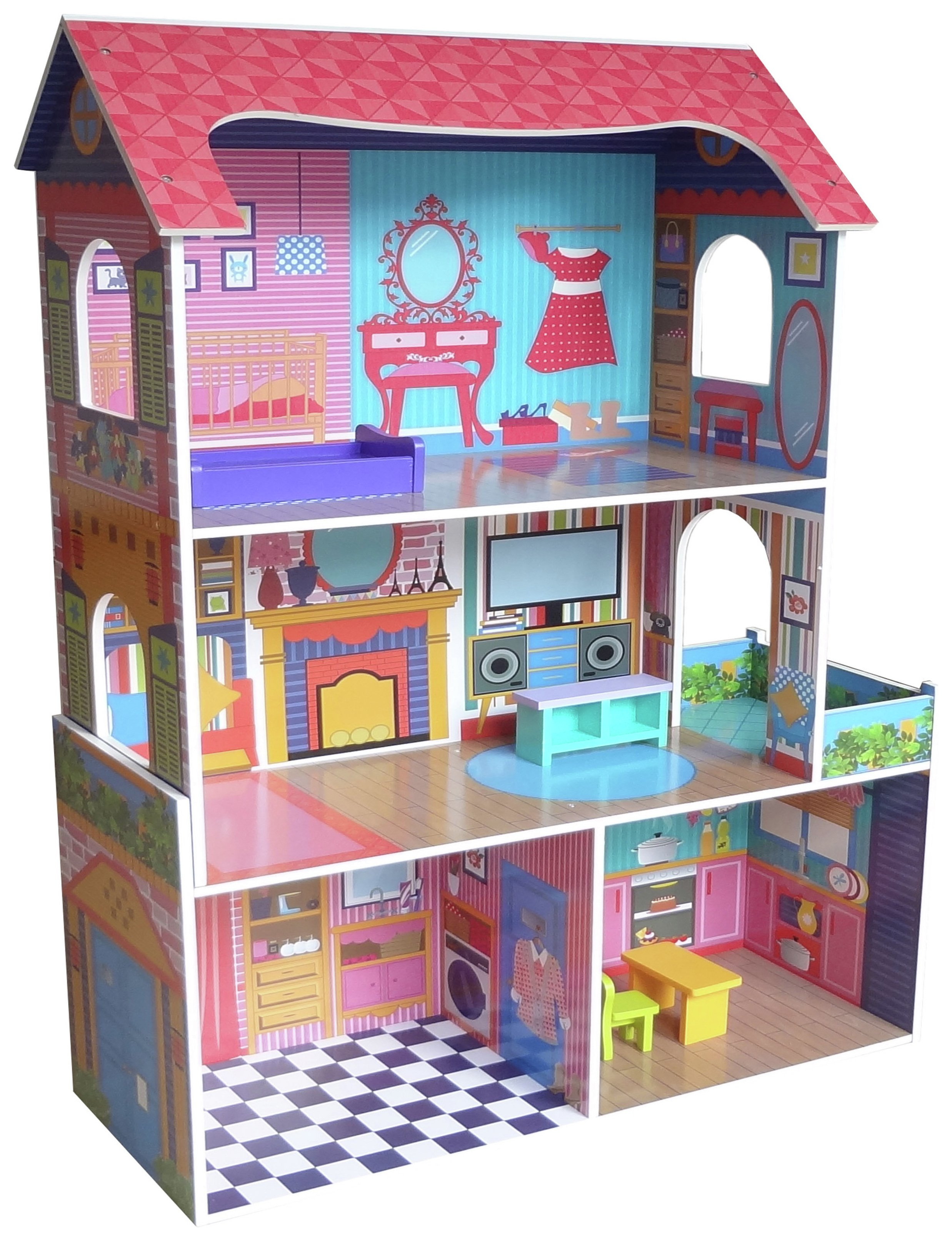 Kiddi Style Supreme Tall Town Dolls House review