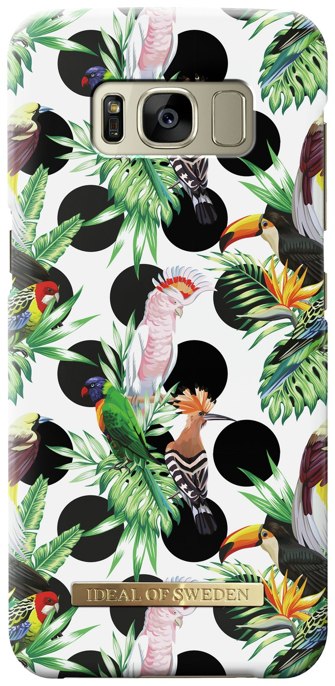 Image of iDeal Hard Shell Samsung Galaxy S8 Case - Tropical Dot