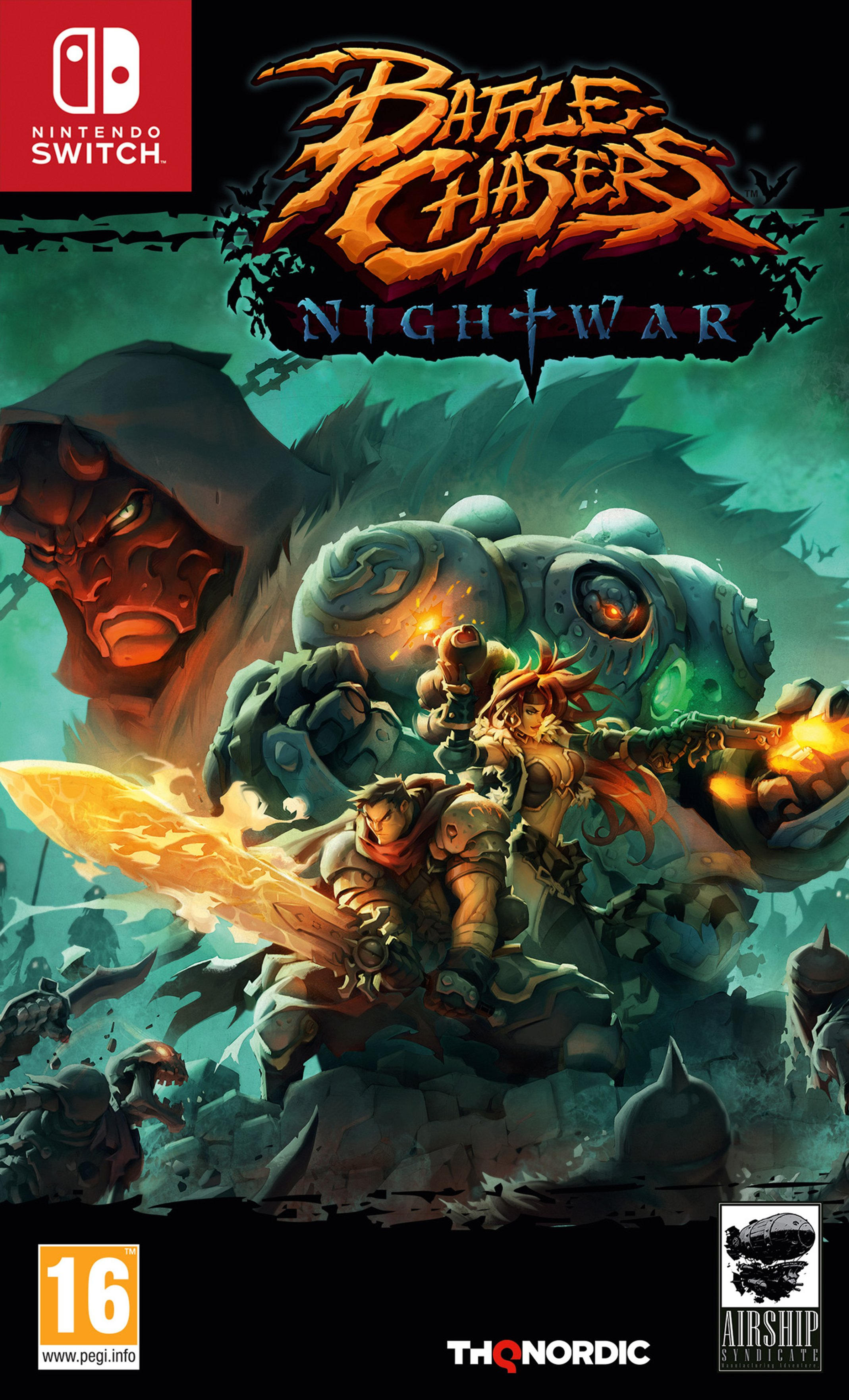 Image of Battle Chasers: Nightwar Nintendo Switch Pre-Order Game