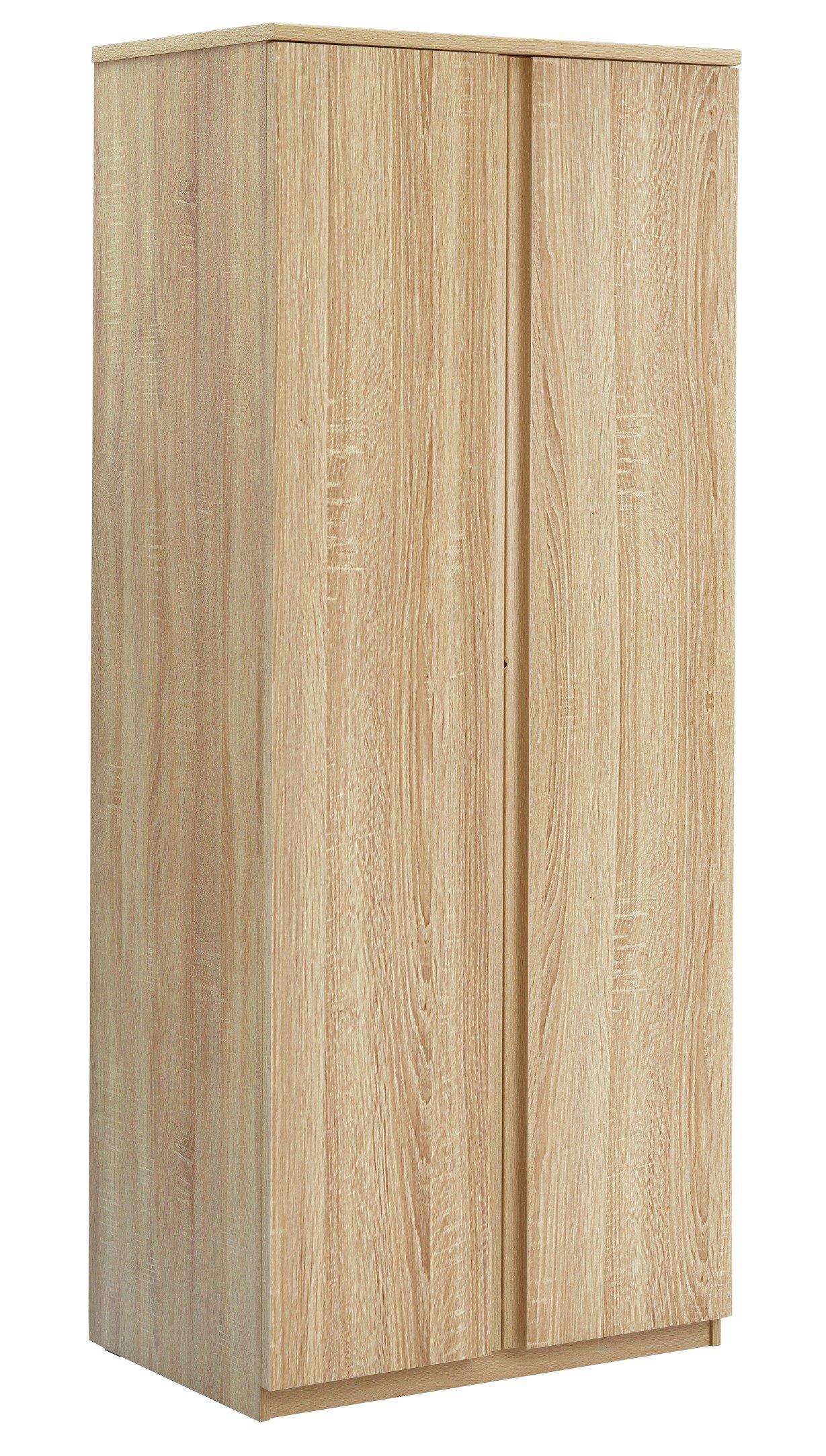 Image of Avenue 2 Door Wardrobe - Natural Oak Effect