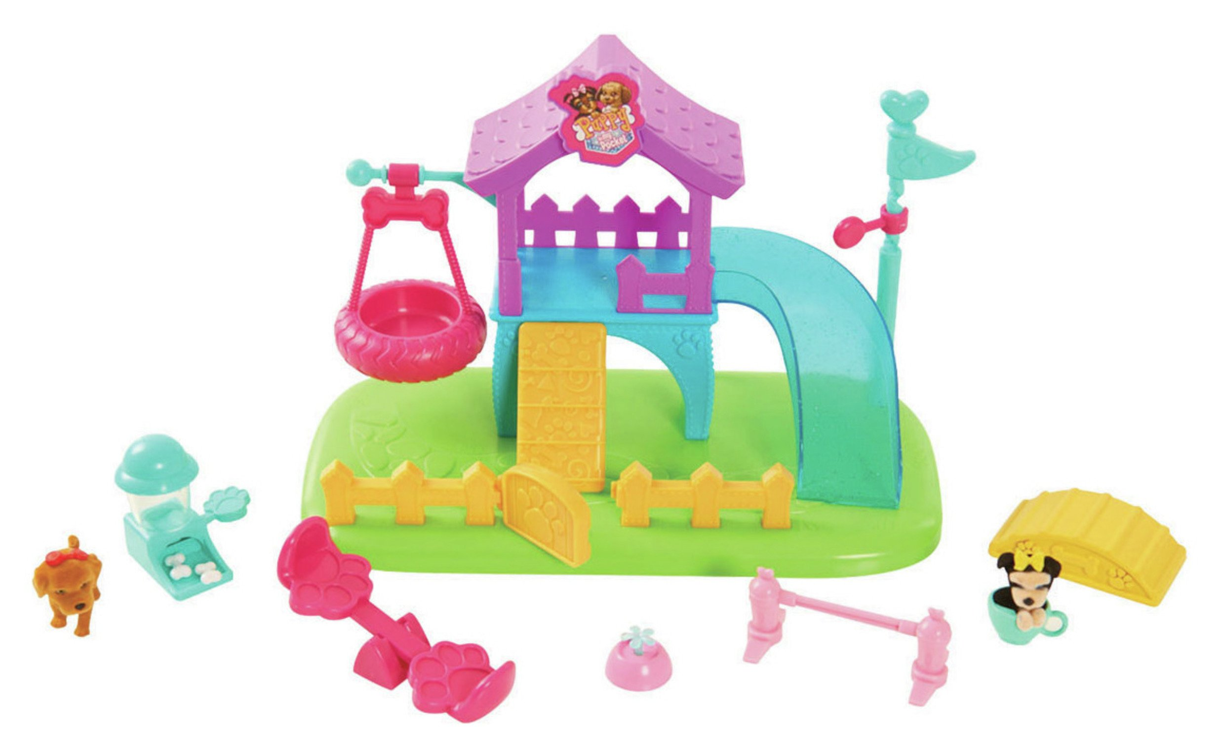 Puppy In My Pocket Puppy Park Playset. review