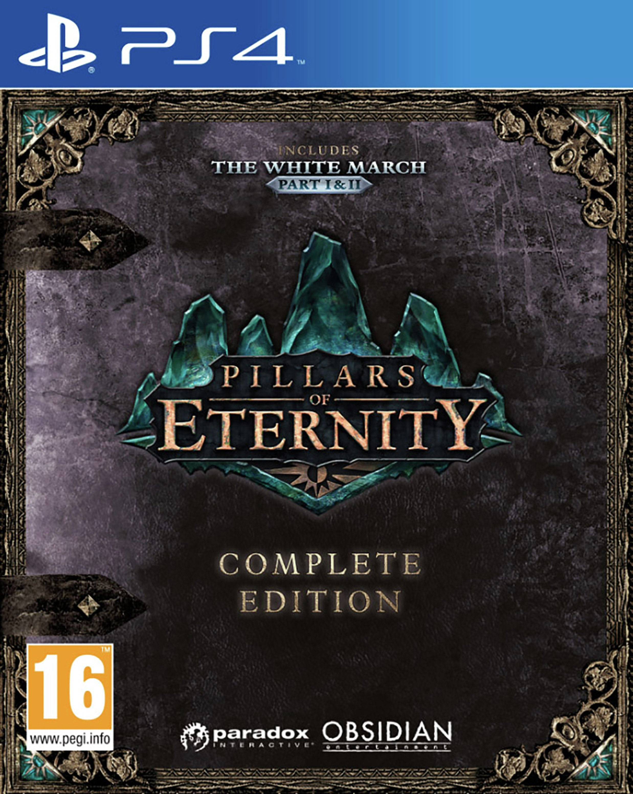 Pillars of Eternity Complete Edition PS4 Game