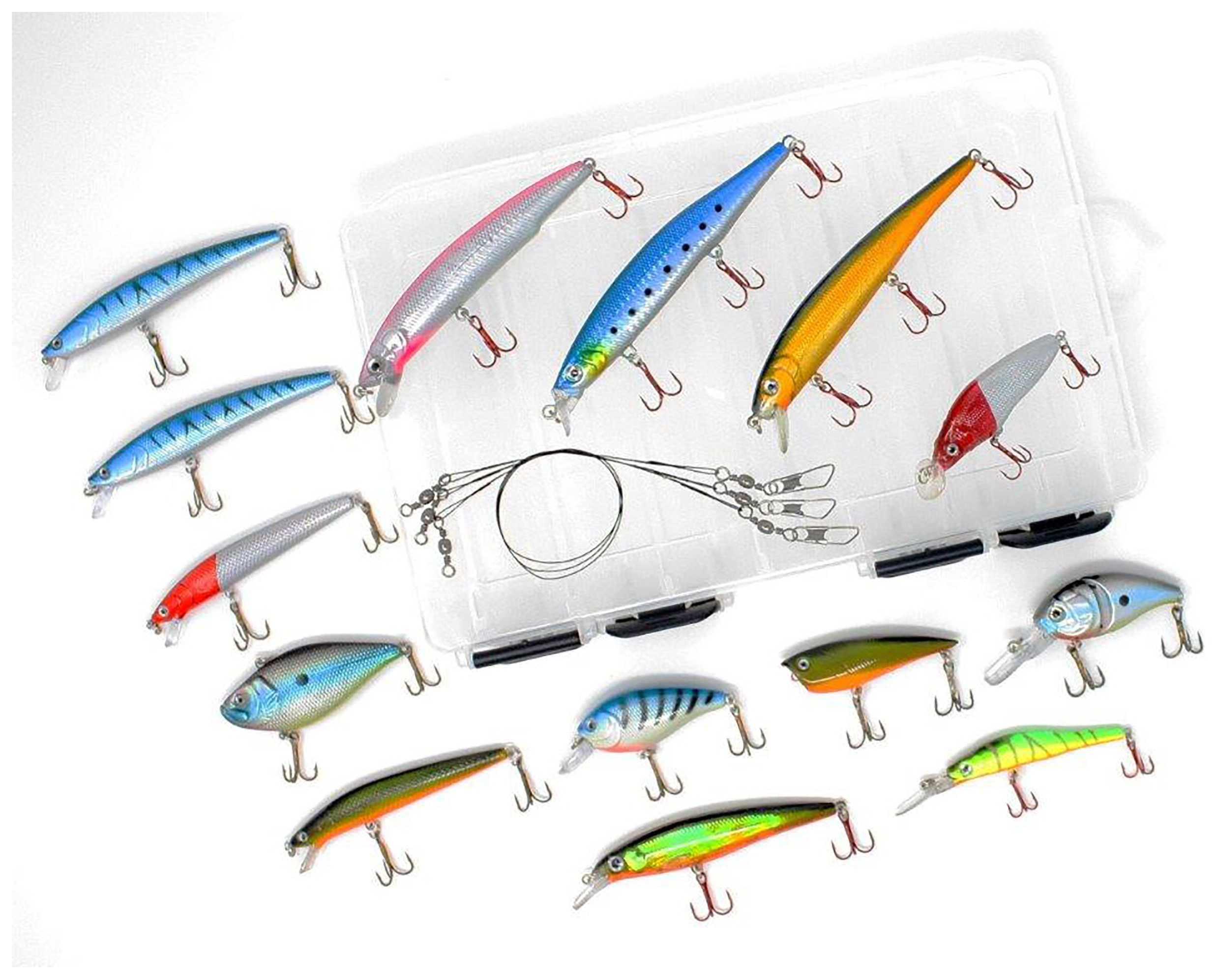 Fladen Filled Multi-Section Lure Box