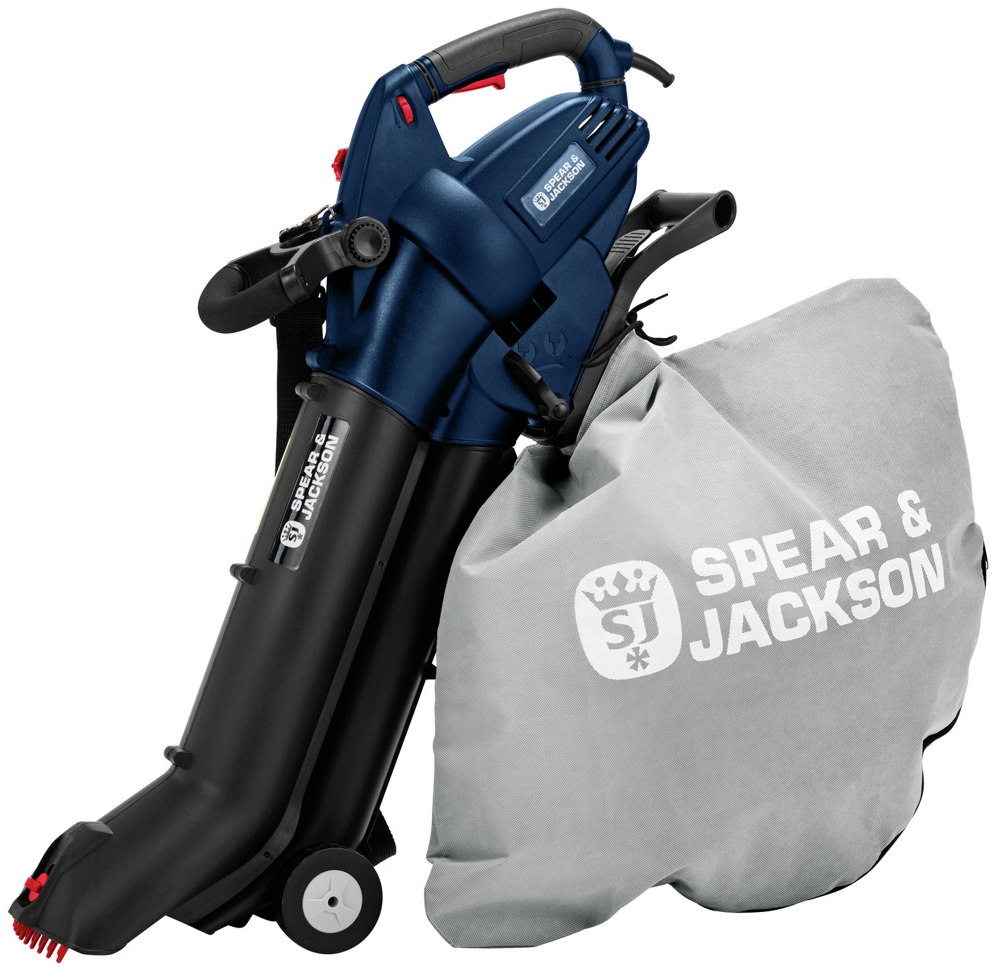 Spear & Jackson S30BLV Corded Leaf Blower and Vac - 3000W