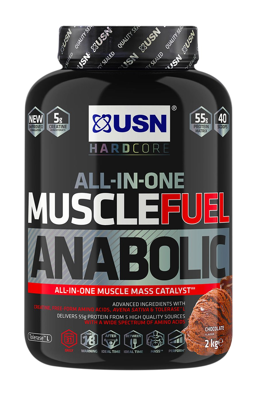USN 2kg Muscle Fuel Anabolic Protein Shake