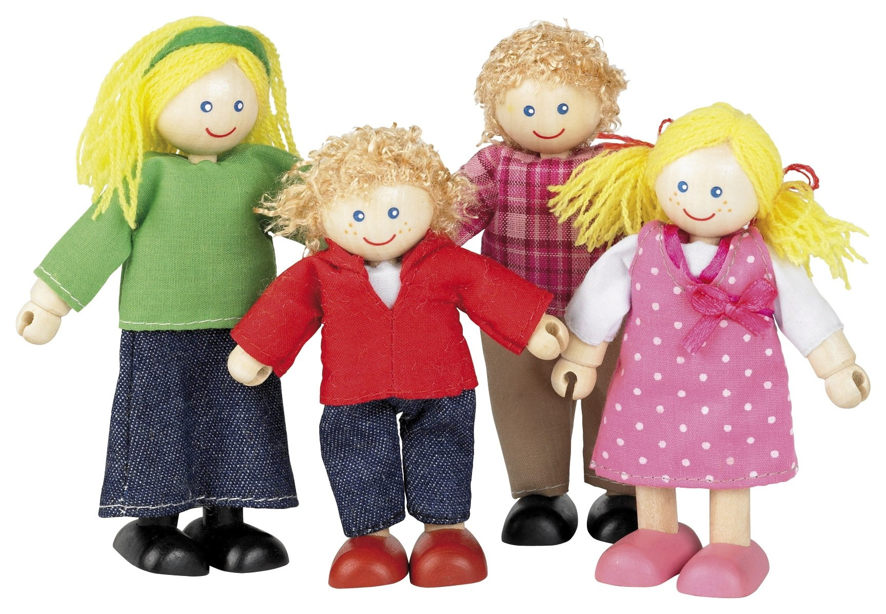 tidlo-doll-family-set