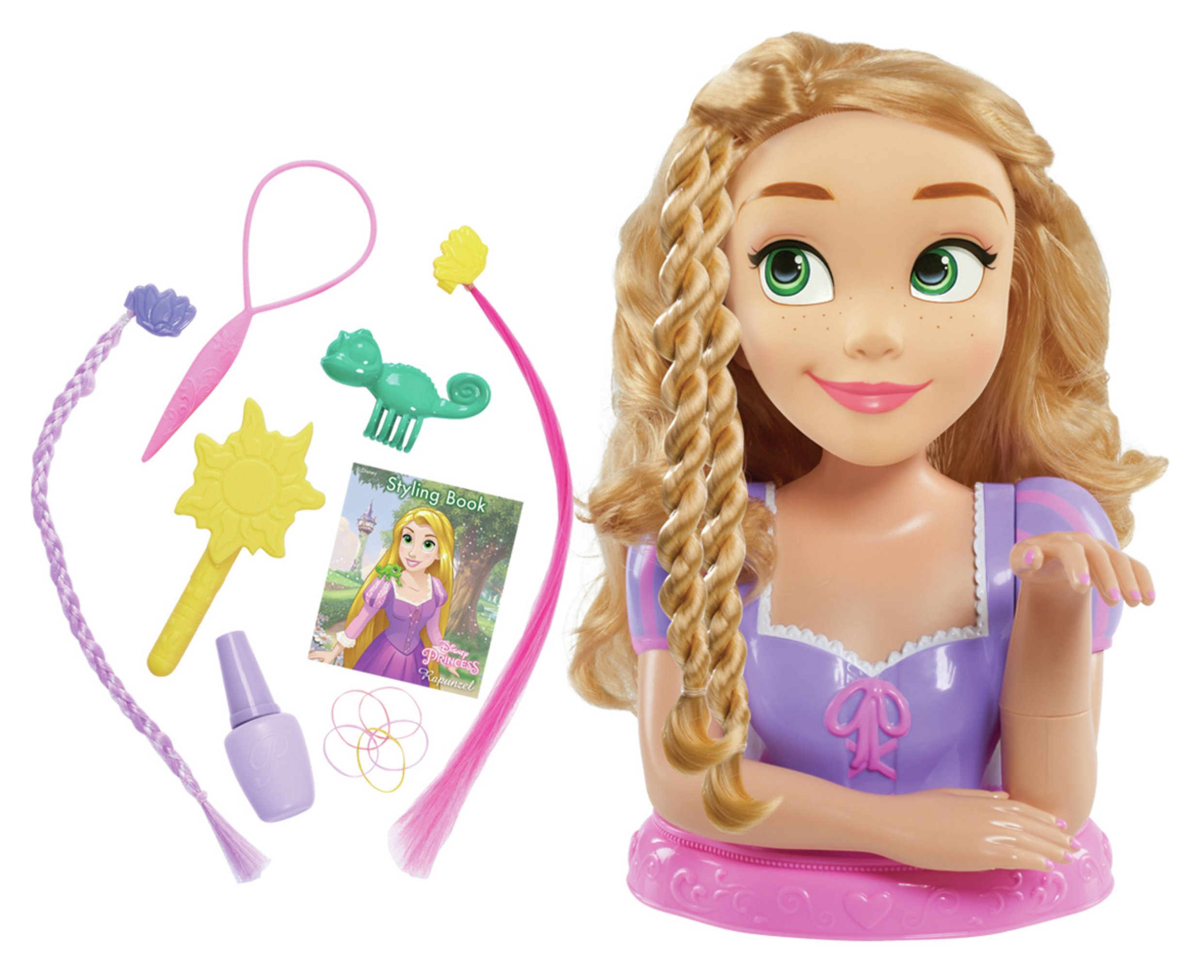 Image of Disney Princess Rapunzel Deluxe Styling Head.