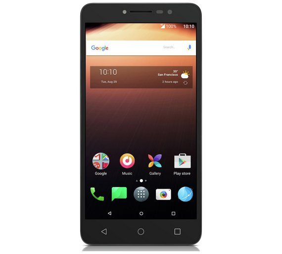 Sim Free Alcatel A3 XL Mobile Phone - Grey