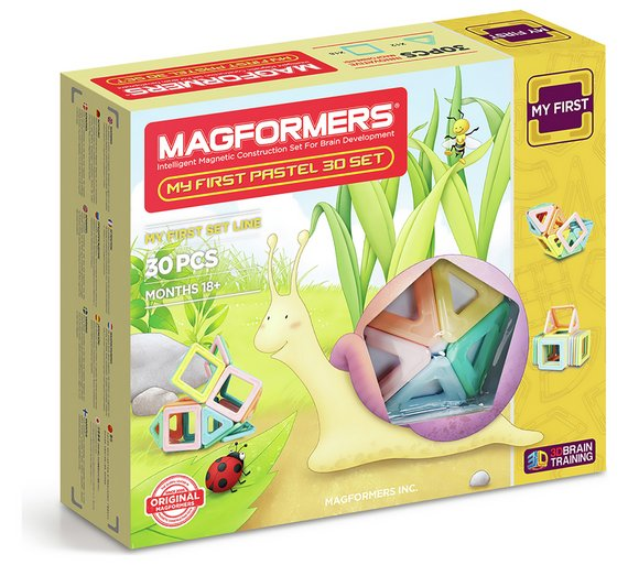 Buy Magformers My First Pastel Construction Set 30 Piece