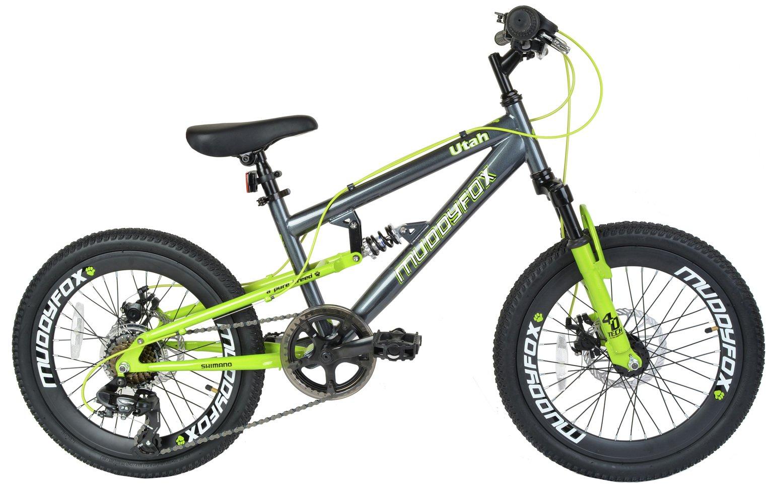 Muddyfox Utah 20 Inch Dual Supsension Kids Bike