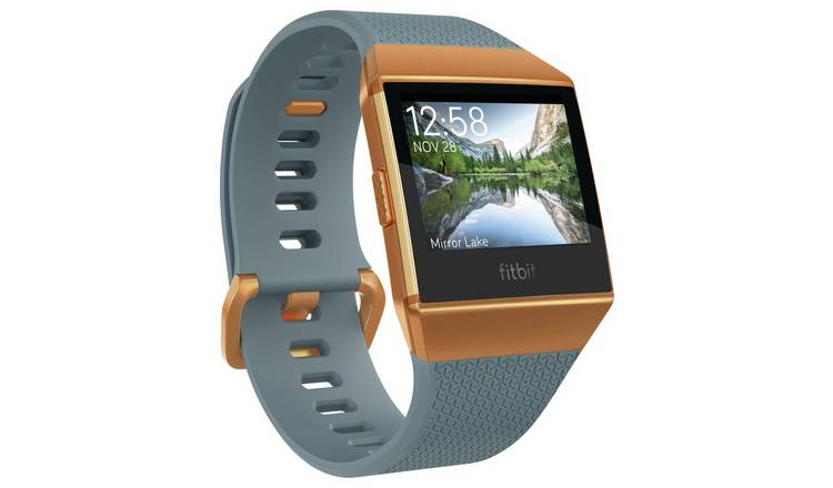 Fitbit Ionic Smart Watch - Blue & Orange