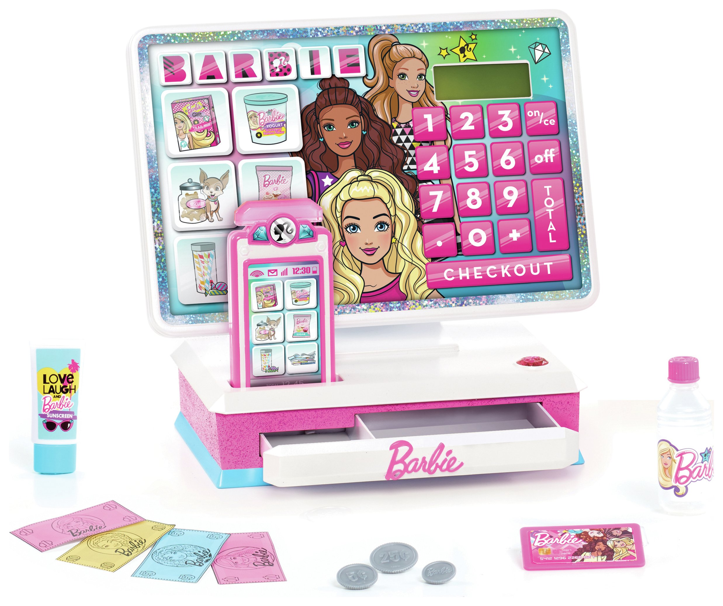Barbie Deluxe Cash Register.