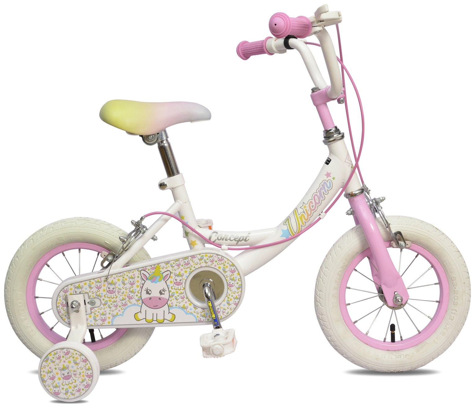 Image of Concept 12 Inch Kids Bike - Unicorn