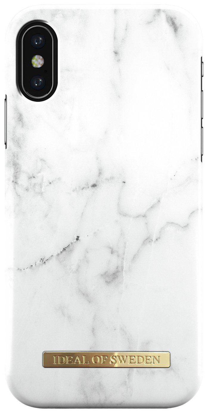 Image of Ideal of Sweden iPhone X Fashion Case - White Marble