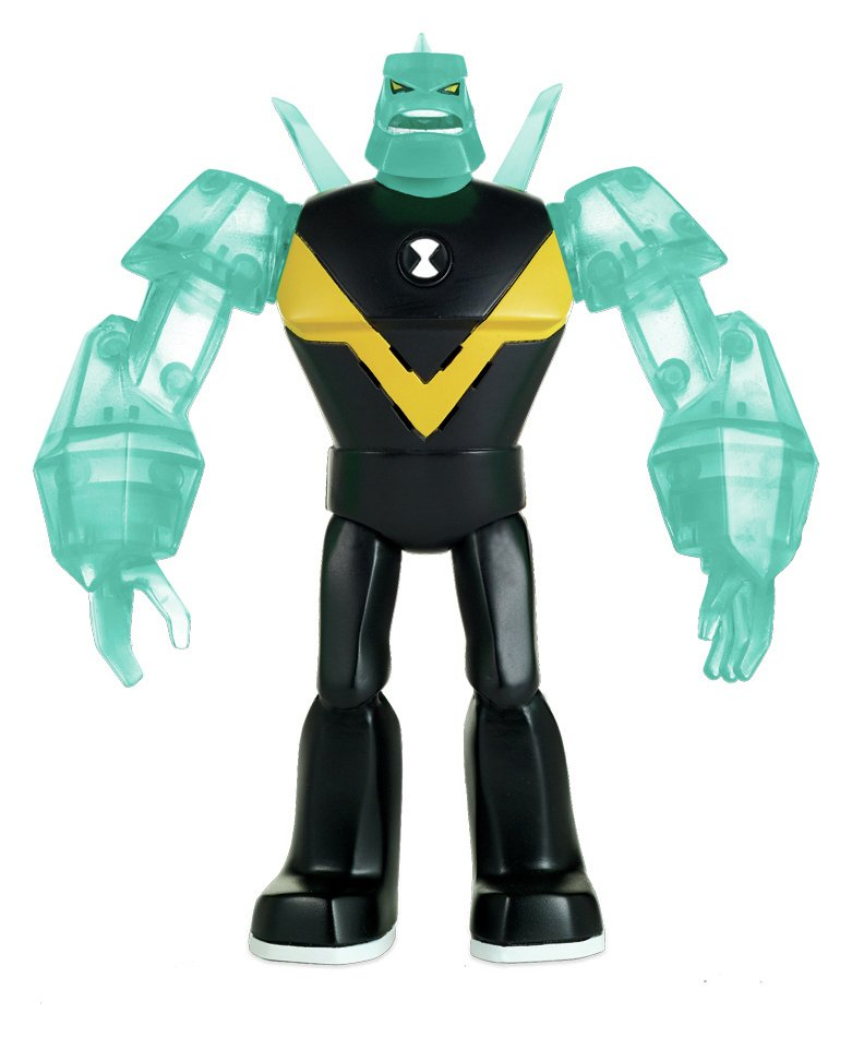 Image of Ben 10 Deluxe Power Up Diamondhead Action Figure.