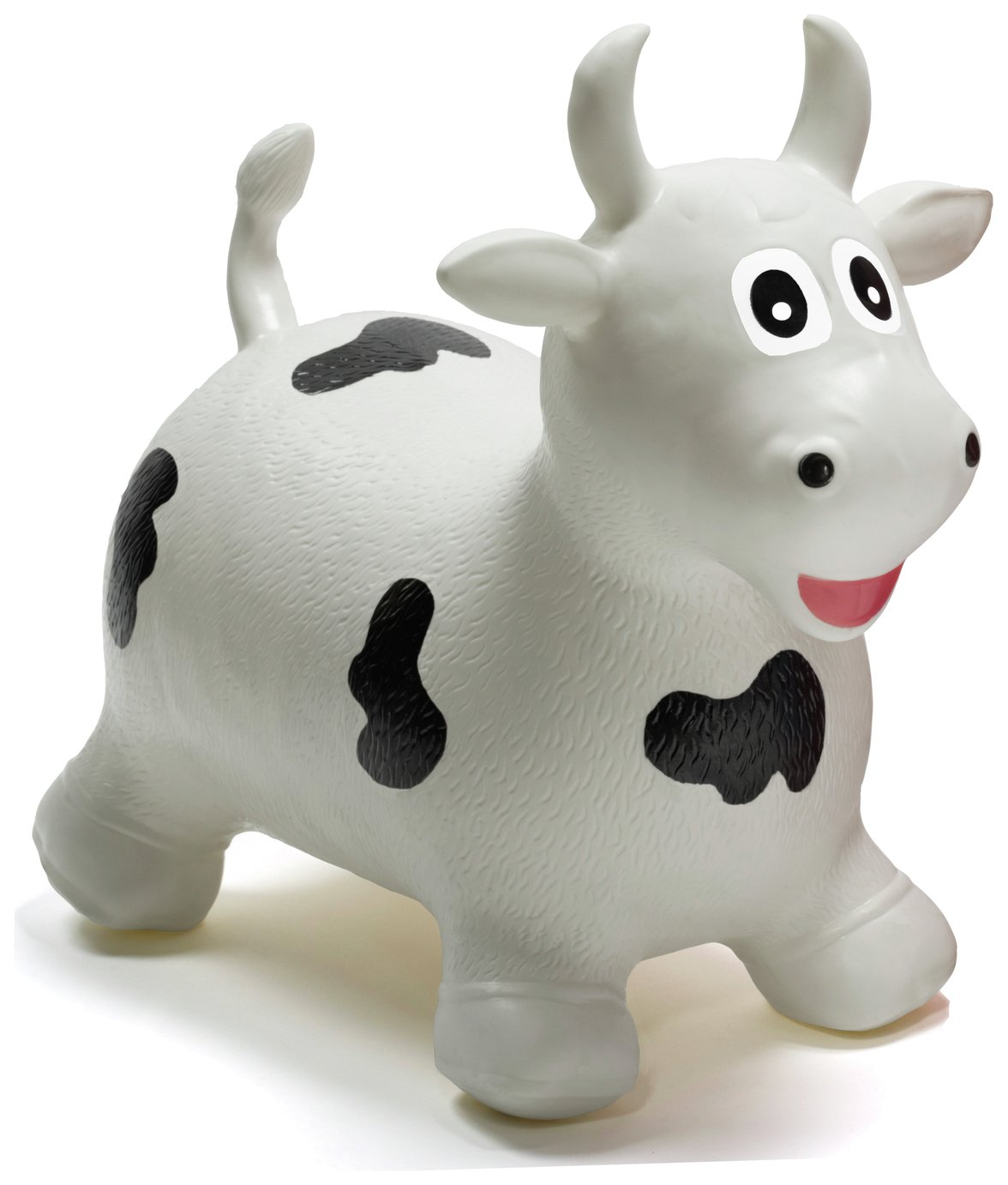 HappyHopperz Inflatable Bouncer Bull   White.