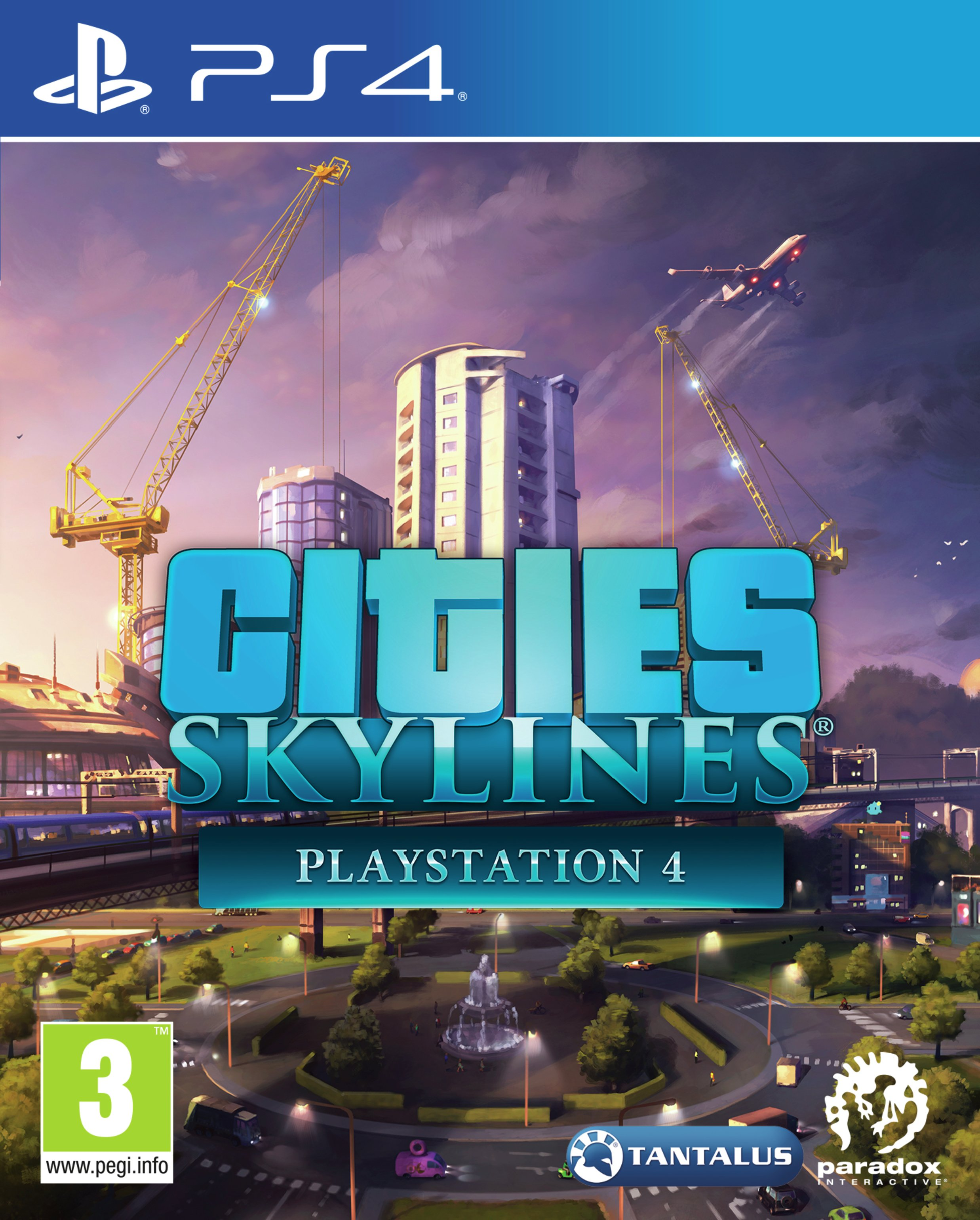 Image of Cities Skylines PS4 Game