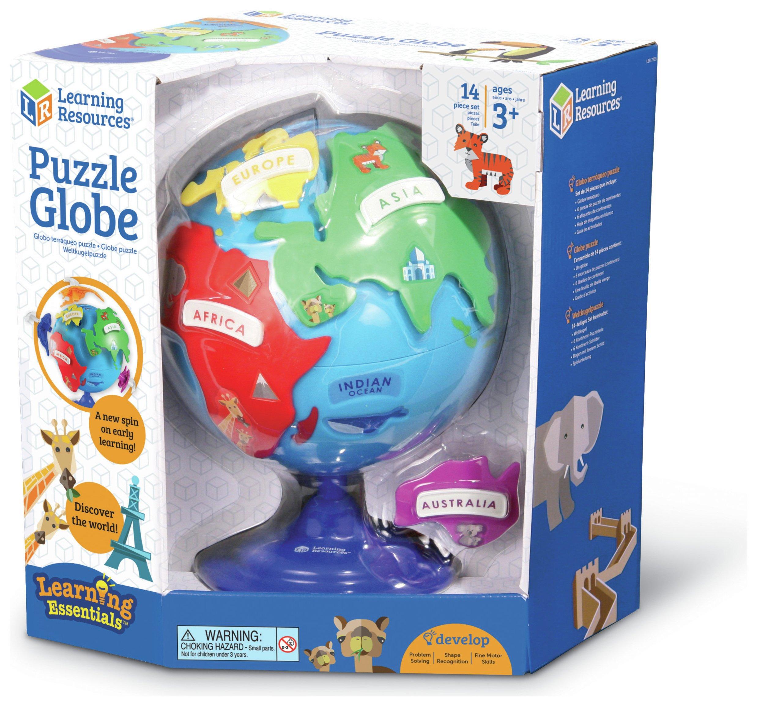 puzzle-globe