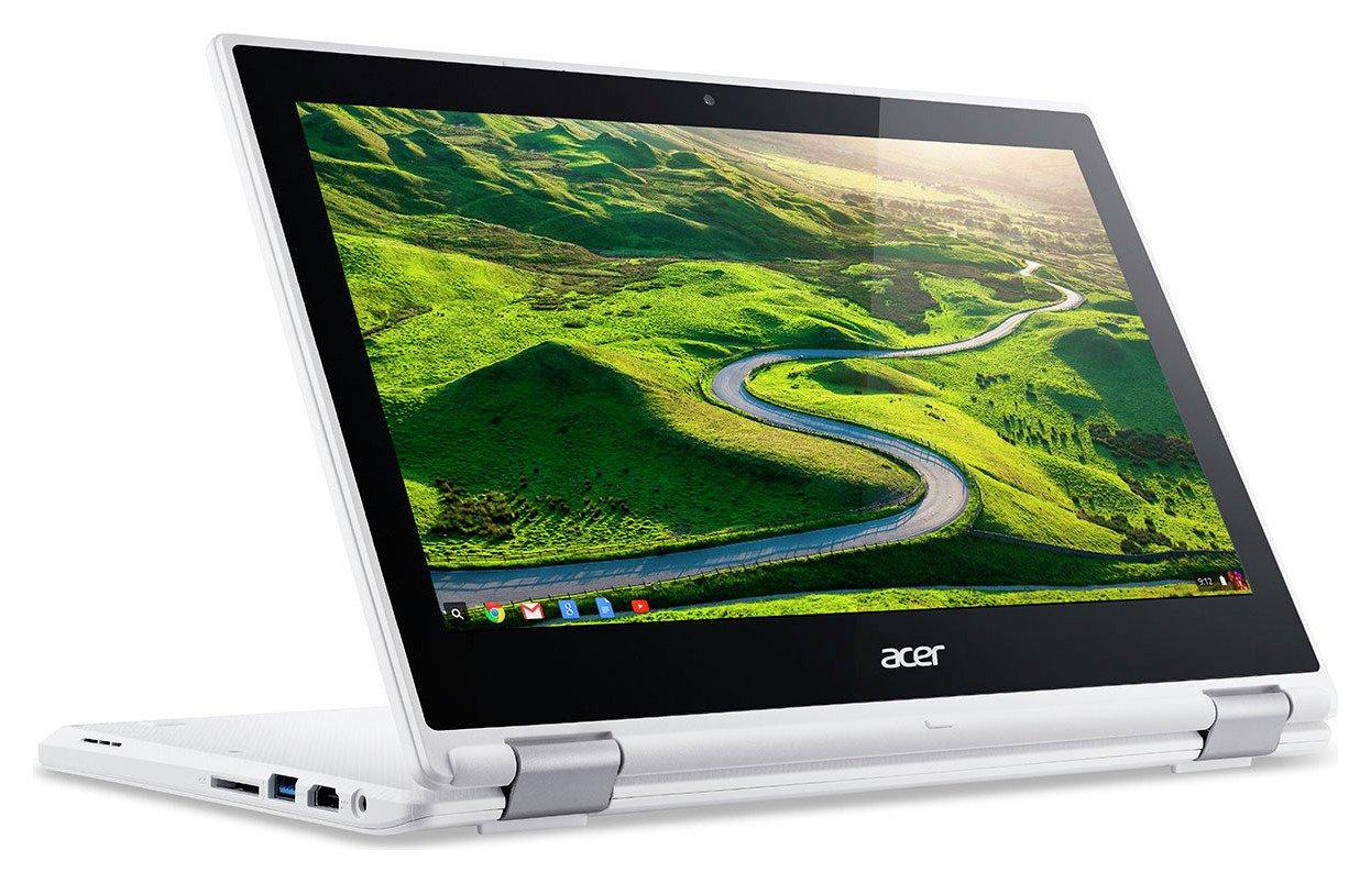Acer R11 11.6 In Celeron 4GB 32GB Chromebook - White