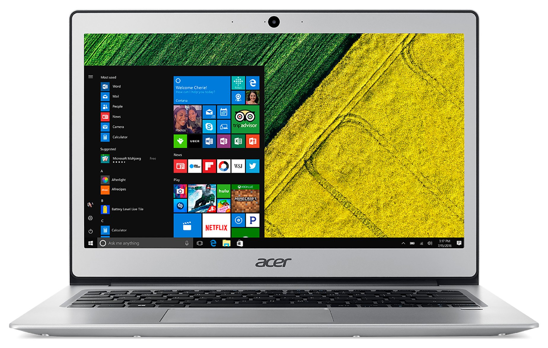 acer swift 1 13 inch pentium 4gb 128gb laptop