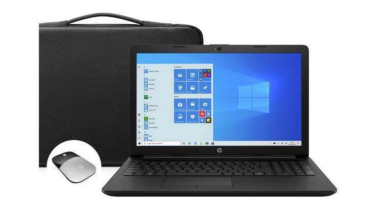 Buy Hp 15 6in Celeron 4gb 1tb Fhd Laptop Bundle Black Laptops Argos