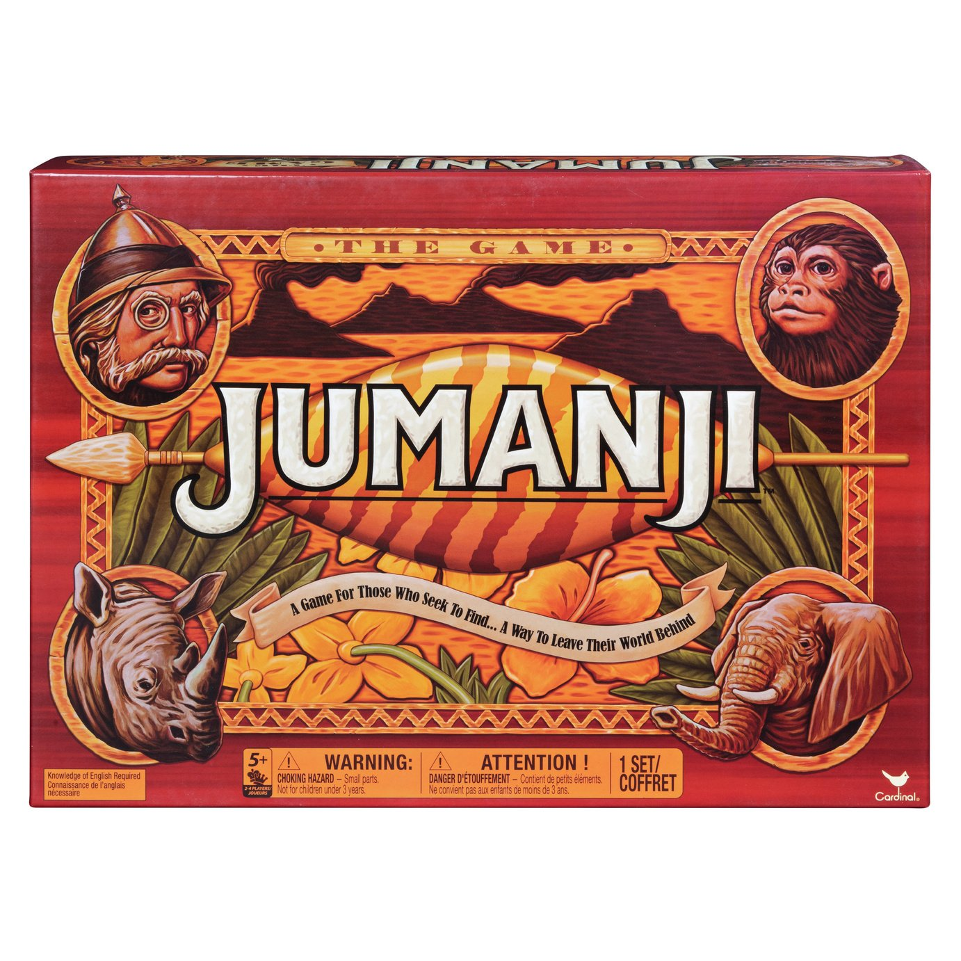 Spinmaster Games Jumanji Game