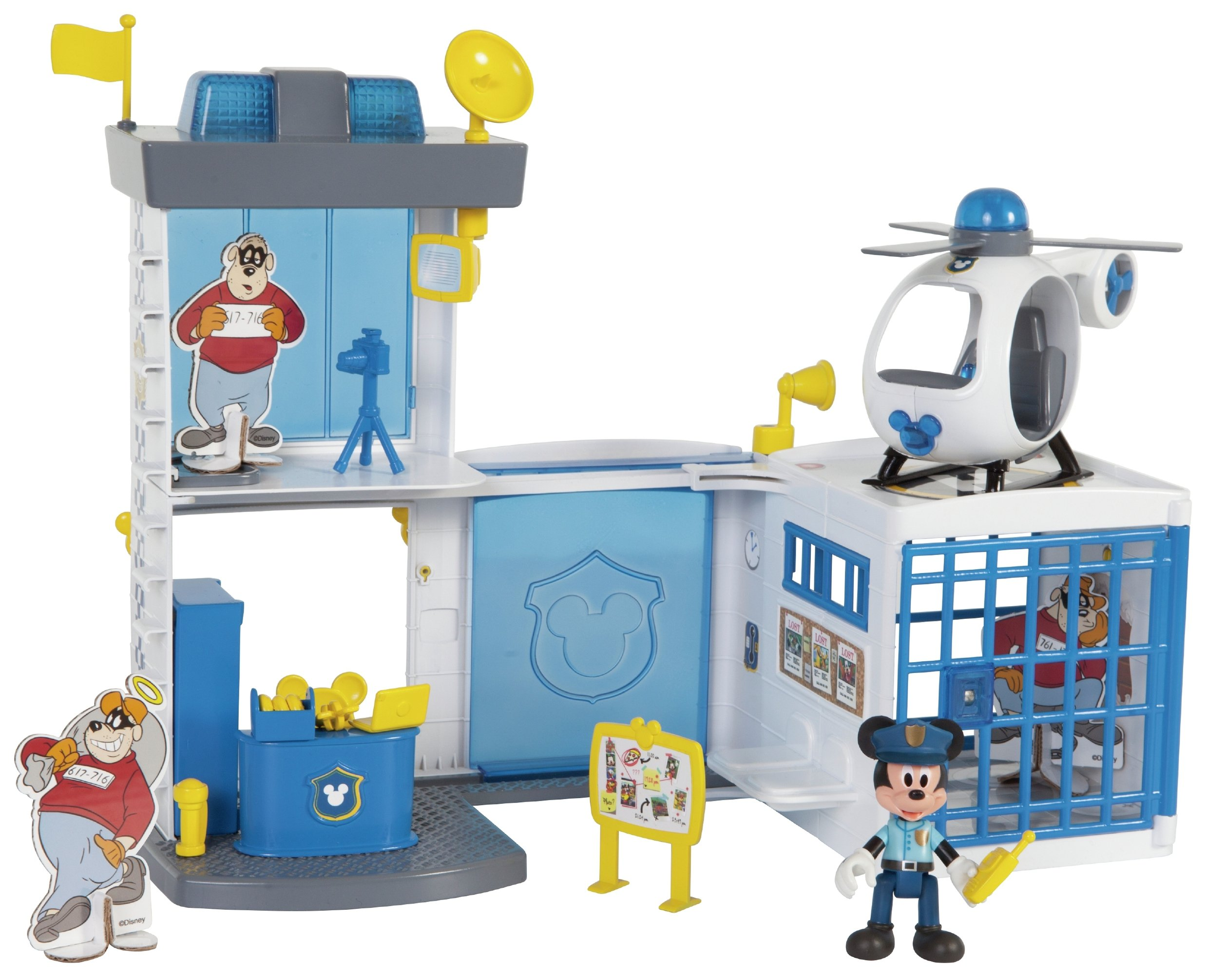 Mickey and the Roadster Racers Mickey's Police Station