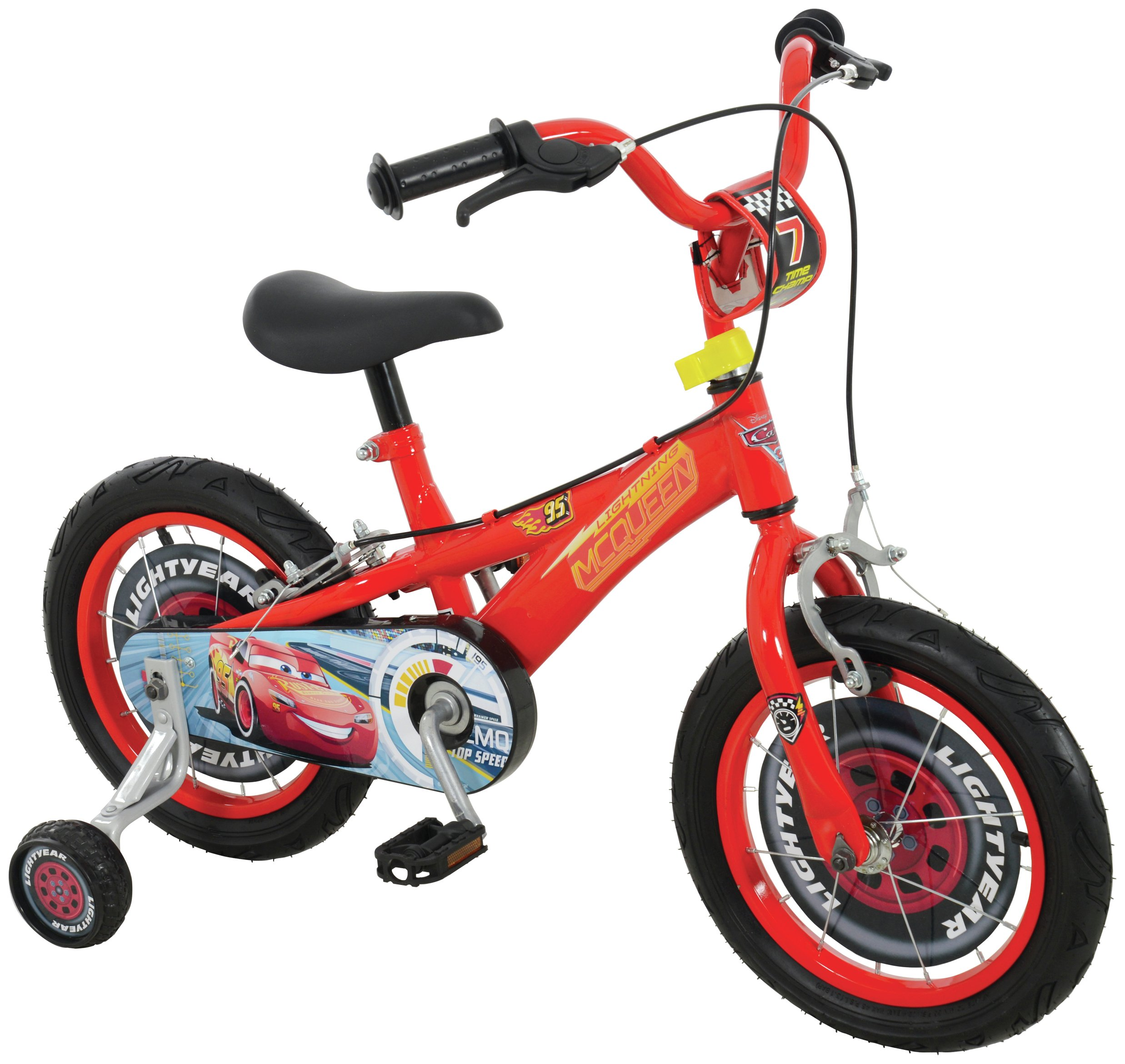 Image of Disney Cars 3 14 Inch Kids bike