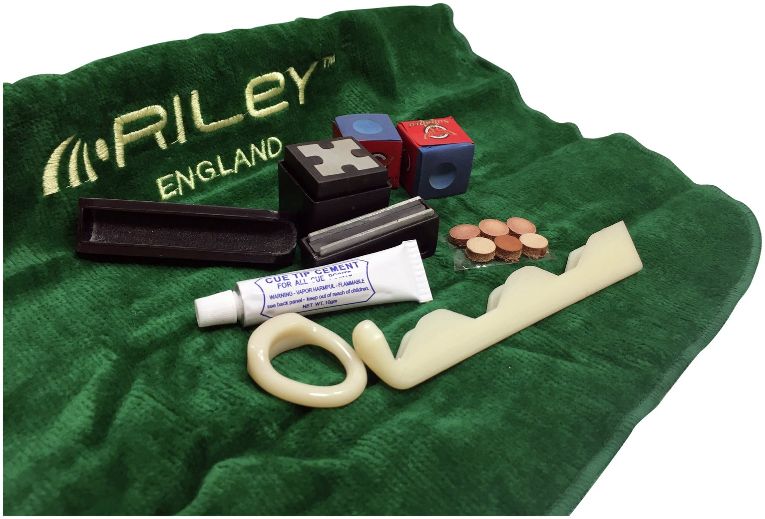 Image of BCE Snooker and Pool Cue Care Kit.