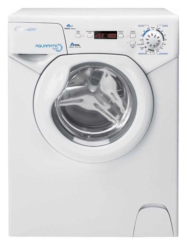 Candy Aqua 1042D1 4KG 1000 Spin Compact Washing Machine