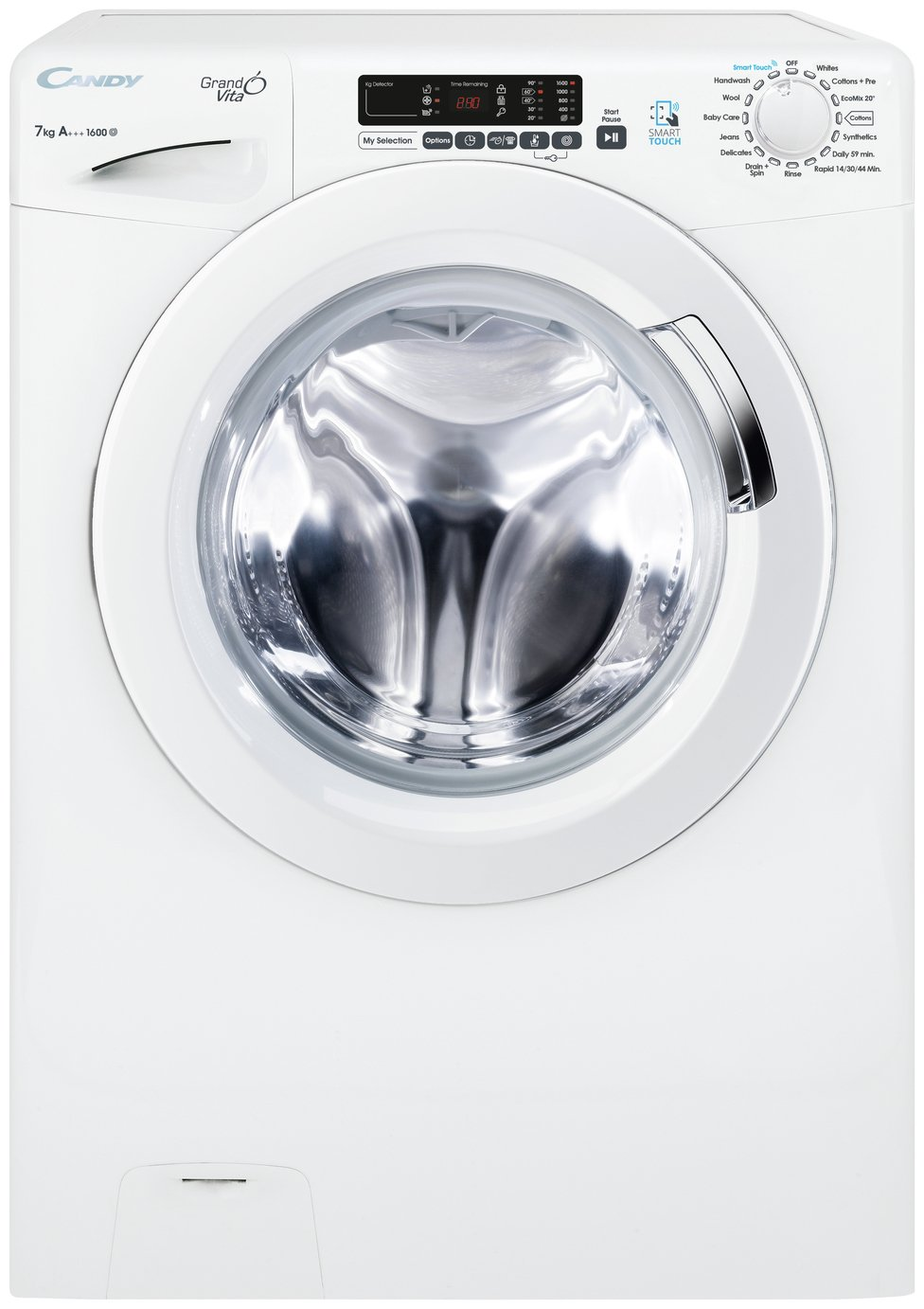 Candy GVS1672D3 7KG 1600 Spin Washing Machine - White