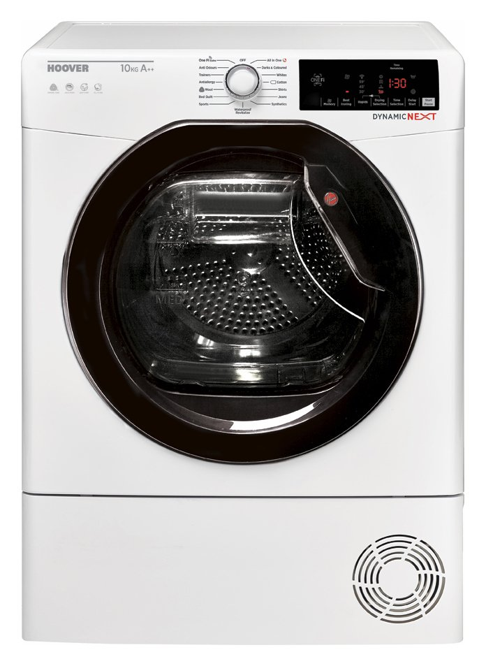 Image of Hoover DXWH10A2TKE 10KG Heat Pump Tumble Dryer - White