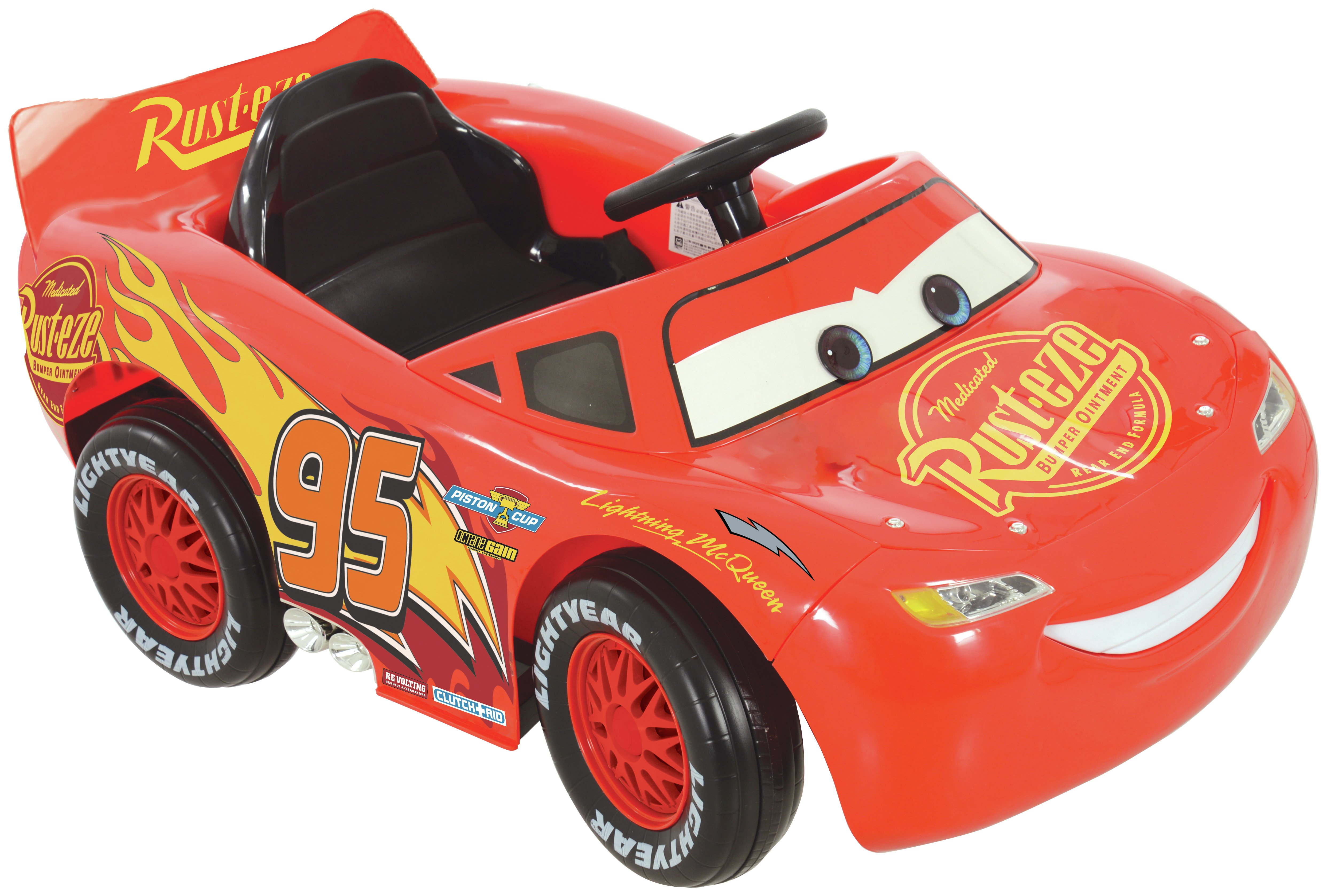 Image of Disney Cars 3 6V battery Operated McQueen Car.