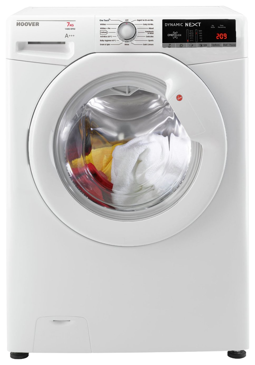 Hoover DXOA147LW3 7KG 1400 Spin Washing Machine - White