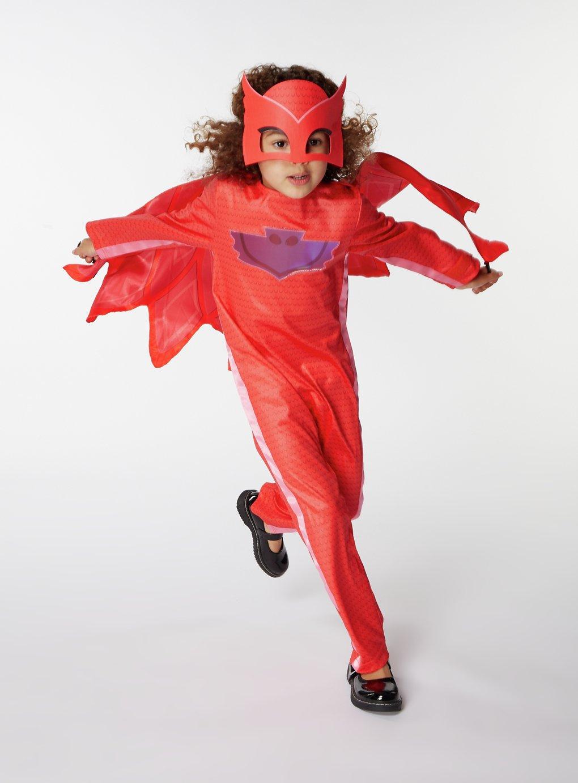 PJ Masks Owlette Fancy Dress Costume - 5-6 Years