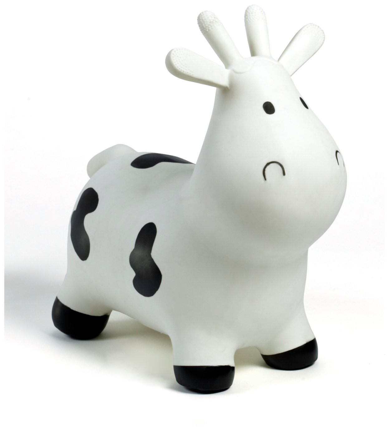 HappyHopperz Inflatable Bouncer Cow   White.