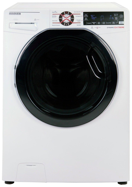 Image of Hoover DWFT410AH3 10kg 1400 Washing Machine - White + Installation